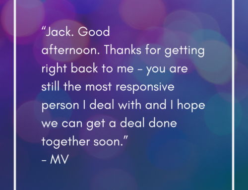 Quote from a Mortgage Broker
